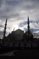Blue Mosque-II by blackeyetolga