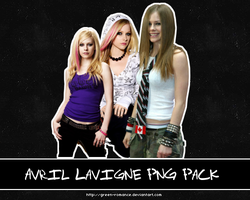 Avril Lavigne PNG Pack by Green-Romance