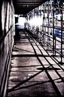 Scaffolding and Shadows by basseca