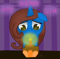 It's A Muffin Candle by MioAis