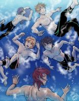 Iwatobi Swimming Club by laurbits