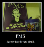 Scooby Doo and PMS by foxfanforever