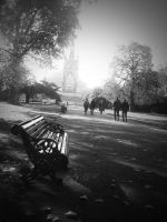 Postcard from London: Kensington Gardens by L1ly-R0s3