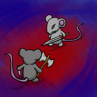 Mouse fight by Storm-Cwalker