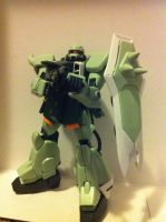 Zaku Warrior Kit 1 by DarthDizzle