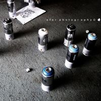 Concrete 'n' Cans by Afer-Photography