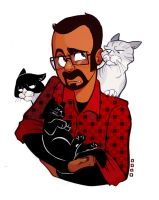 Arif and Some Cats by Hyacinth-Zofia