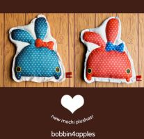 ++New Mochi Plushes++ by bobbin4apples
