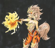 Arcanine by nickyflamingo