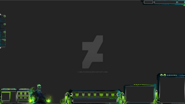 Zombie Brand Overlay by Melificence