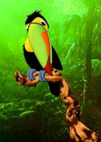 Keel-Billed Toucan by FauxHead