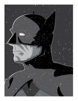 batman portrait by garrettross