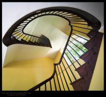 Hidcote Stairs by GMCPhotographics