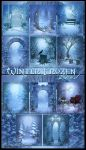 Winter Frozen land backgrounds by moonchild-ljilja