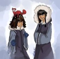 Twins' The Legend of Korra by Anny96