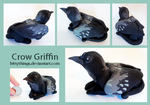 Griffin Crow by Bittythings