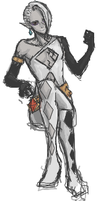 LoZ Skyward Sword -Ghirahim- iS doodle by cGeneticist