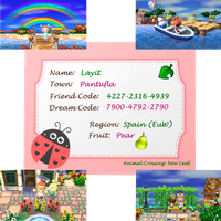 Animal Crossing NL Codes by Layit