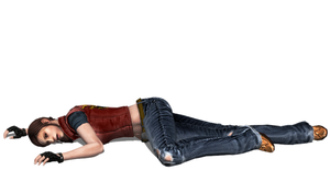 Claire Redfield (Code Veronica) Fallen 1 by FallenParty