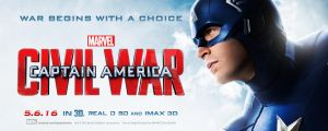 Captain America: Civil War - Theatrical Banner #1 by spacer114