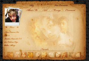Myspace layout by -aoe-eternia