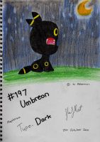 no. 197 Umbreon by Sherlock3000