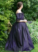 Victorian evening gown by Abigial709b