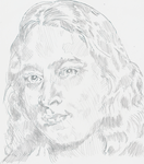 Study for Yogananda Portrait by deviantmike423