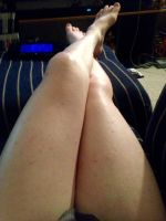 Proud of my legs Today by Diknbeans