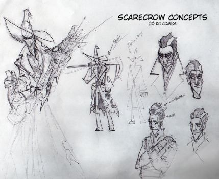 Scarecrow - Animation Style by msandborn