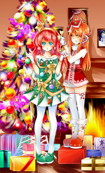 Merry Christmas 2013 by amayaangeline