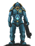 Power Armor by Crowsrock