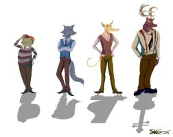 Animal Jazz :: Line-up by Space-Jacket