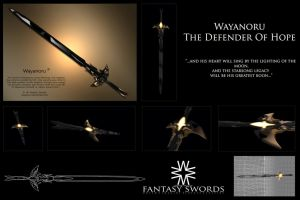 Wayanoru, The Defender of Hope 3D by Wayanoru