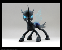Changeling 3D Printed Figure [Pose 2] by Clawed-Nyasu