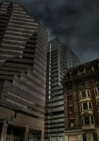 Downtown Baltimore-Old vs. New by Keith-D
