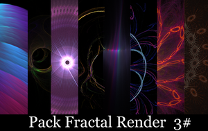 Pack Fractal Render 3 by sakaDesign