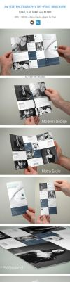 Photography Trifold Brochure by bakirci