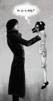 Are you my daddy?        [Dishonored/Doctor Who] by PiuPiu-Littlebird