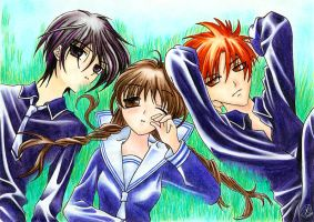 Fruits Basket by RainbowRose912