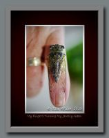 My Finger's Turning My  Jewelry Green by PixelBlender