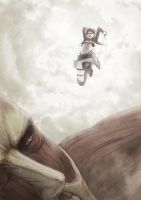 Shingeki no Kyojin by xaetic
