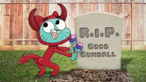 I am Evil Gumball by Rupeeclock