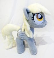 Derpy plush by mmmgaleryjka
