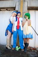 Macross Frontier Group by Nefzinha