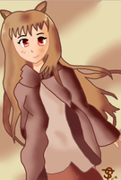 Holo from Spice and Wolf by Locomatic