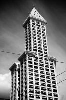 .smith tower. by elementalunacy