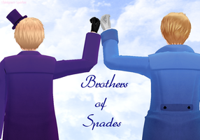 Brothers of Spades by Shinigami-Spartan