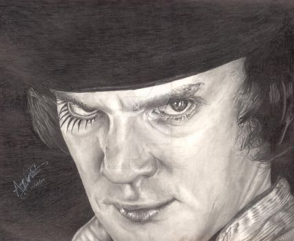 Malcolm McDowell by Anthony-Woods