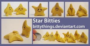 Star Bitties - Selection Limited by Bittythings